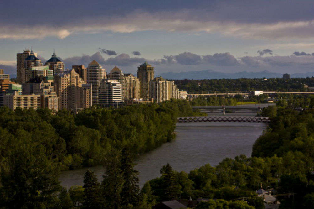 Float down the Bow River