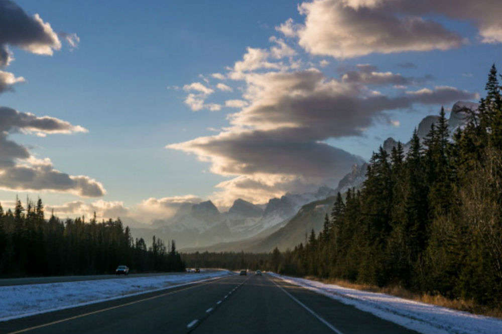 Head to the Rocky Mountains