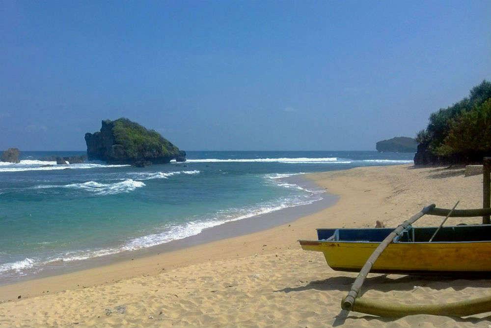 Ngandong Beach, Gunungkidul