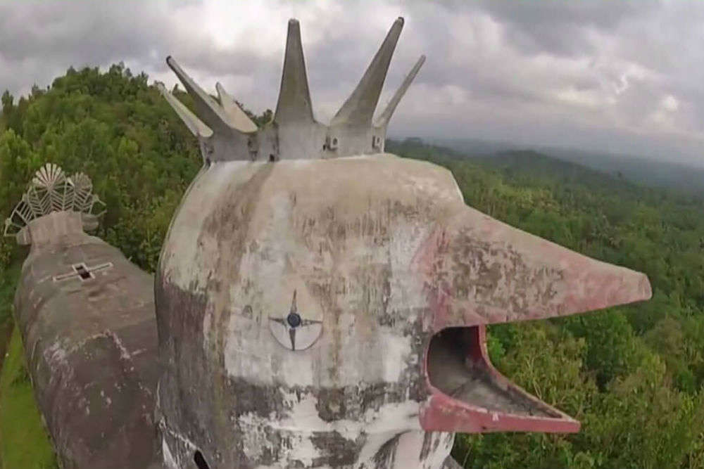 The Abandoned Chicken Church, Magelang