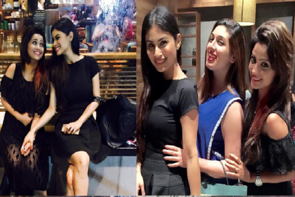 When naagins Adaa Khan and Mouni Roy partied the night away