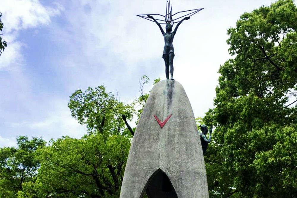 Children's Peace Monument and Sadako Saskaki's Paper Cranes
