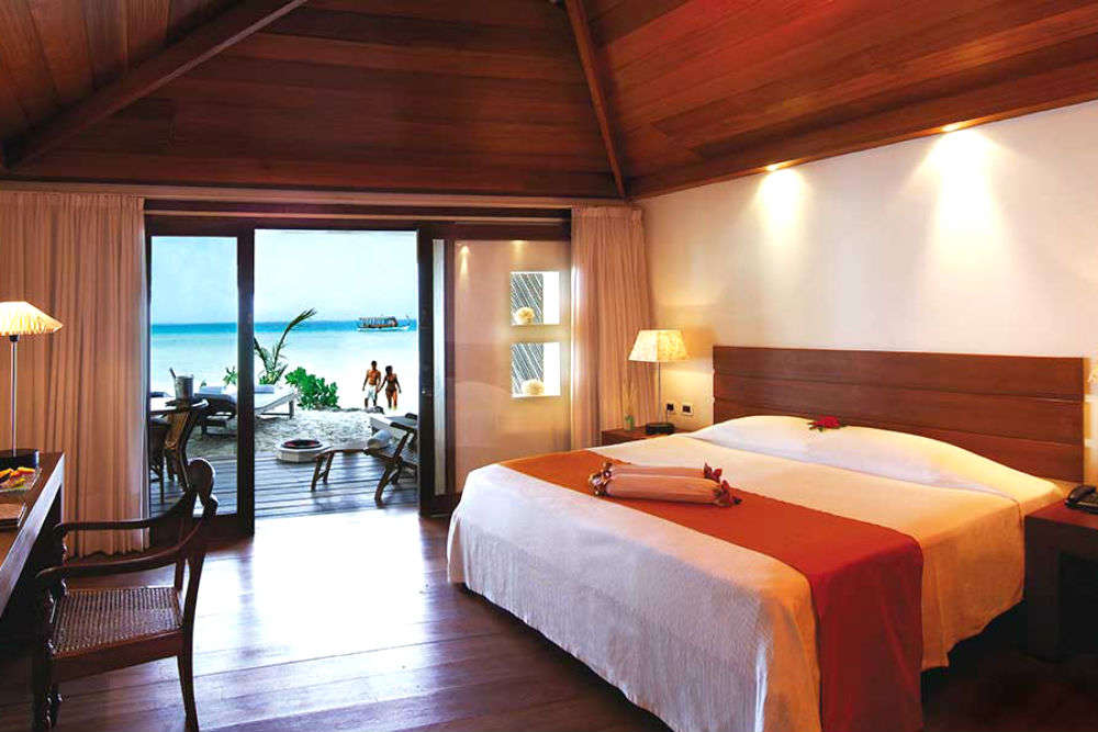 Premium luxury beds in Maldives