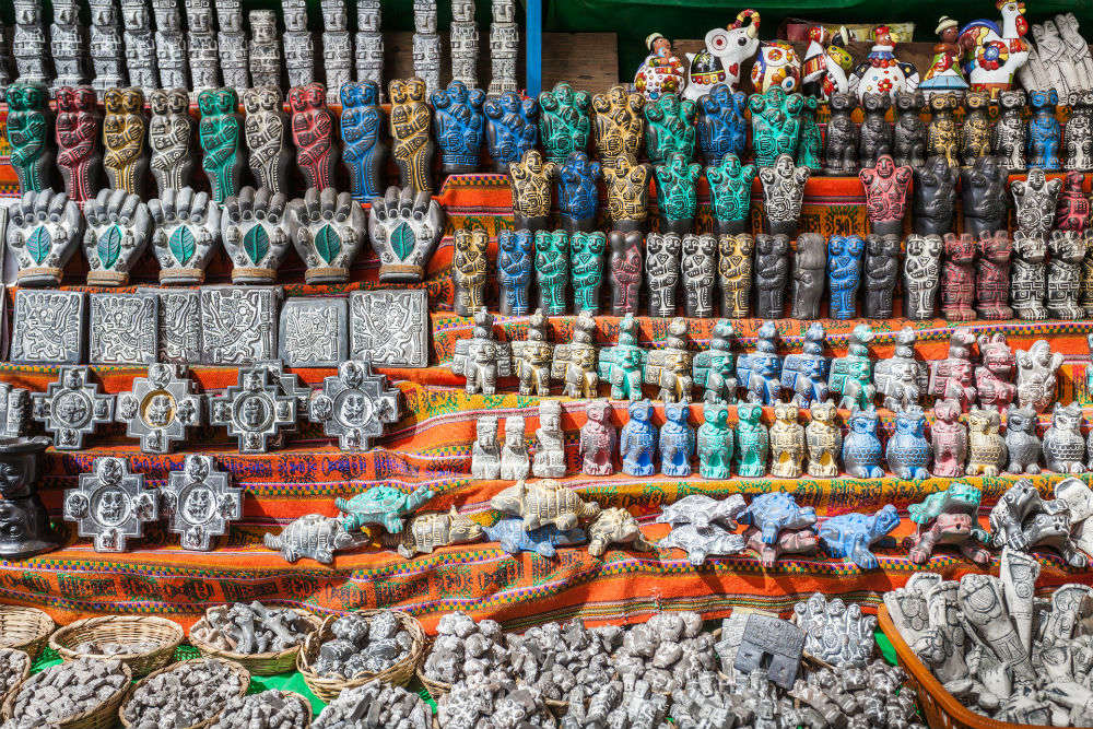 Souvenirs from Ecuador
