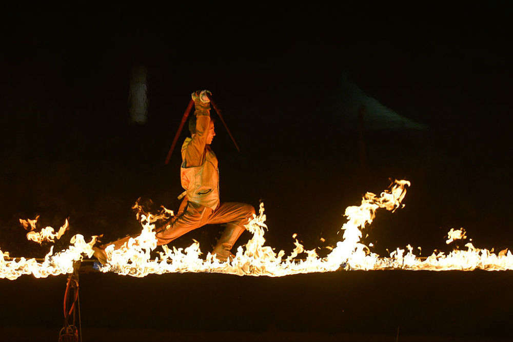 Watch the Grandstand Show