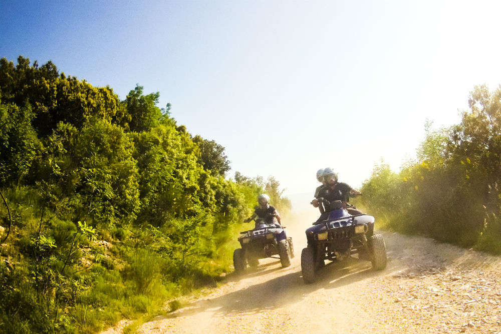 Go for Quad adventures in the countryside of Cambodia