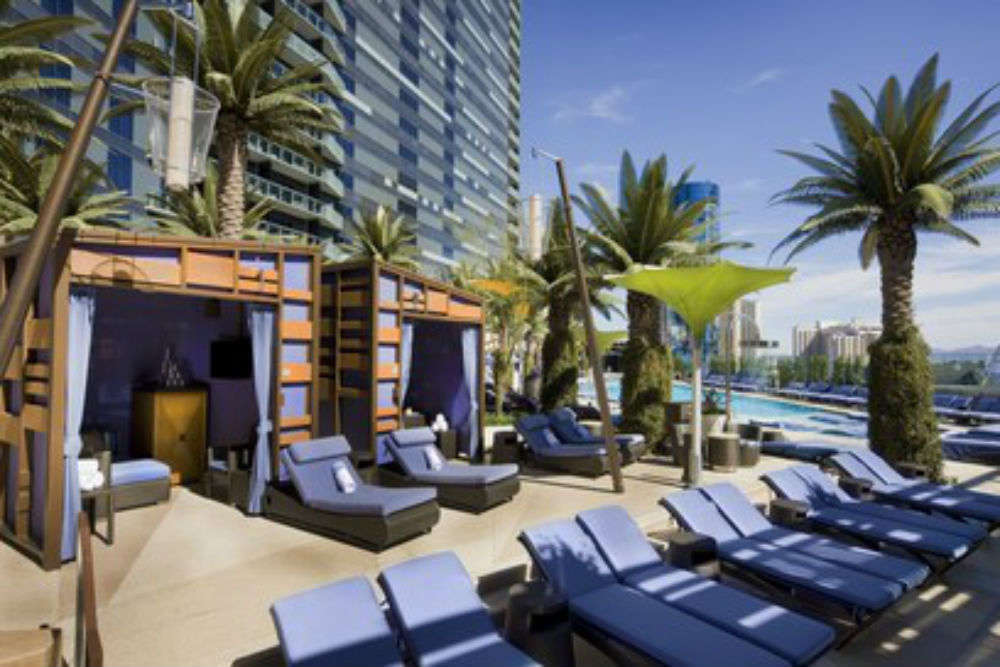 Head to Bambook Pool at The Cosmopolitan
