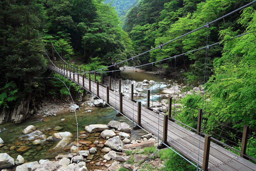 Sandan-kyo Valley