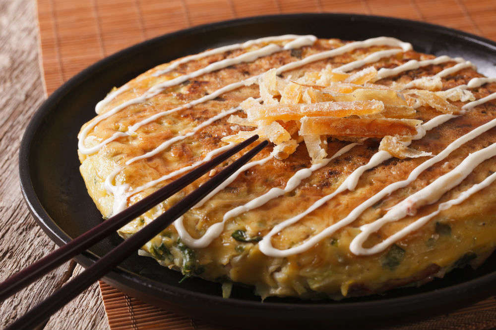 Discover the taste of Okonomiyaki