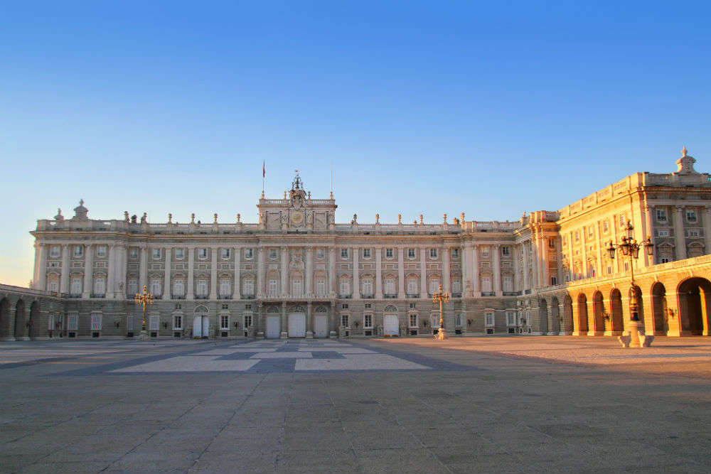 Royal Palace of Madrid and Almudena Cathedral