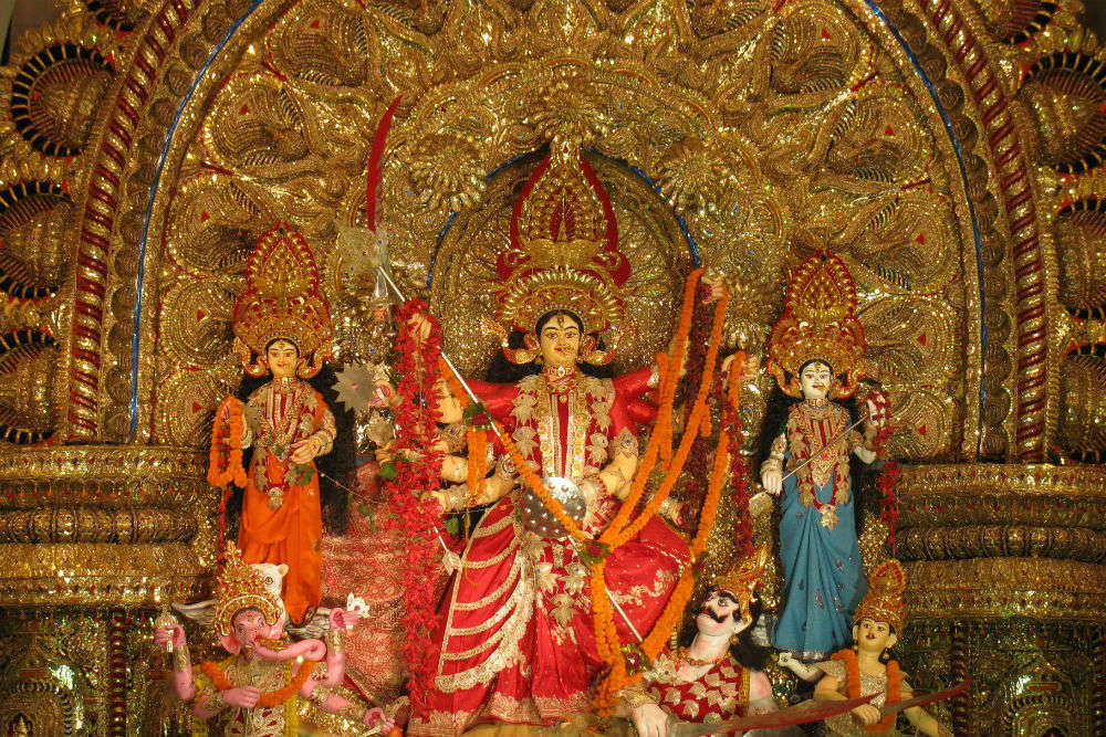 Mangalabaag Puja Pandal