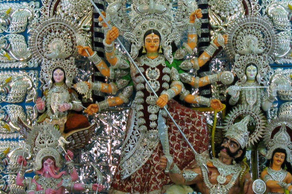 Khan Nagar Puja Pandal