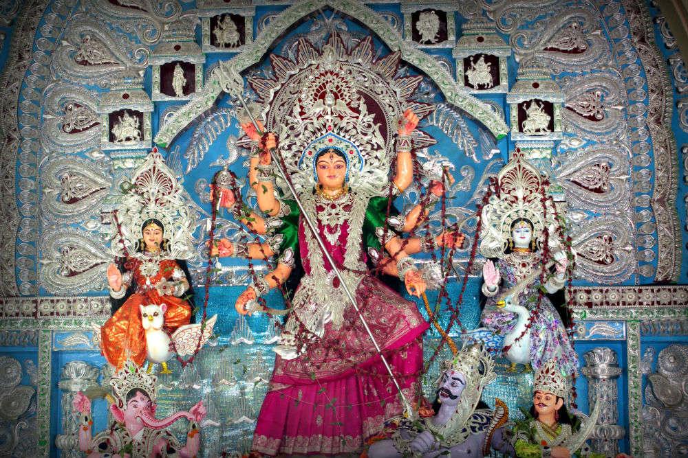 Haripur-Dolomundai Puja Pandal