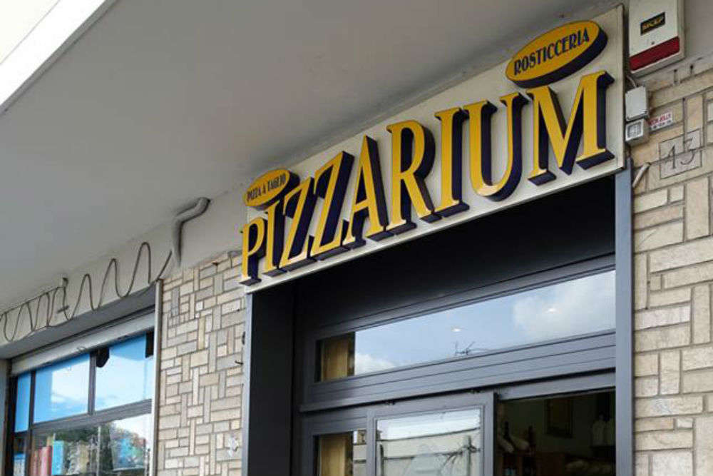 Pizzarium or Bonci Pizza