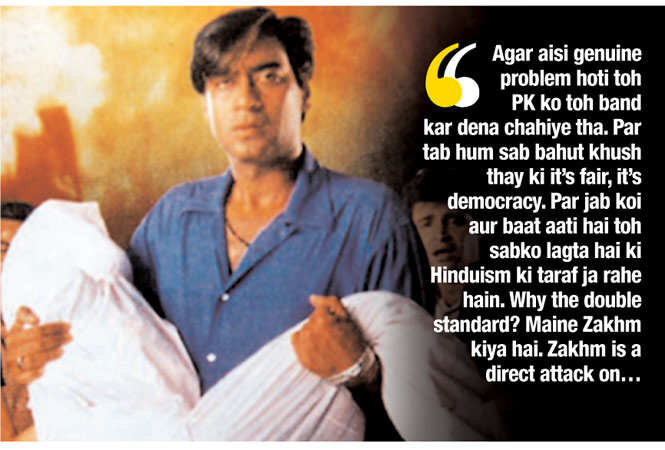 Ajay Devgn: I can vouch for the entire industry ' we don't