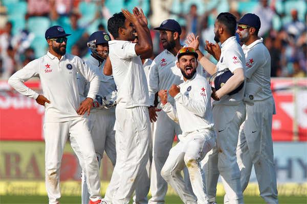 live cricket score india vs england test match today