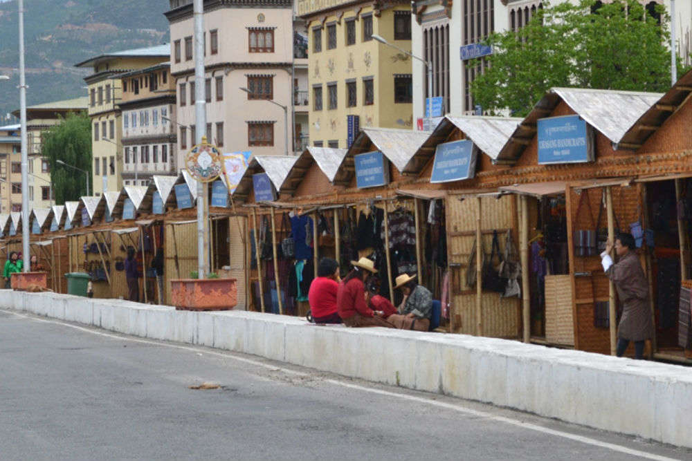 Authentic Bhutanese Crafts Bazaar