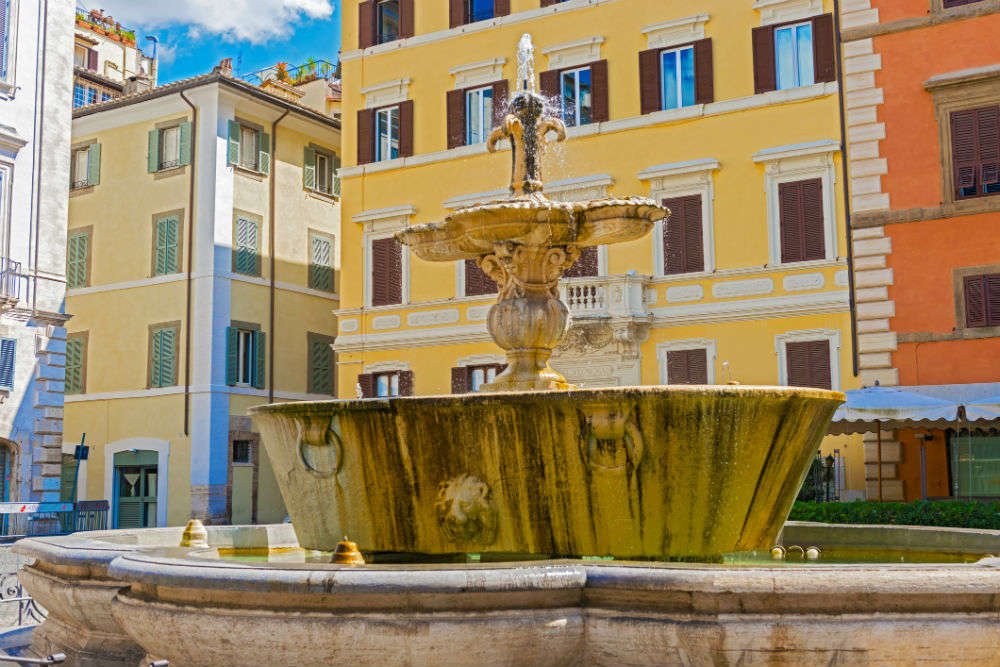 Farnese Square fountain