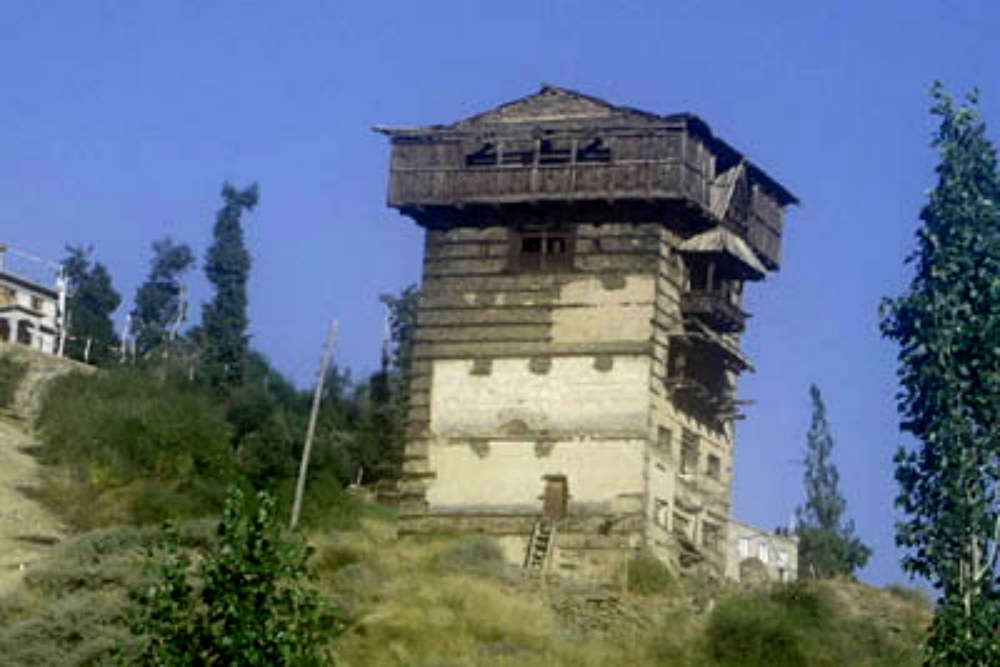 Tower fort of Gondhla