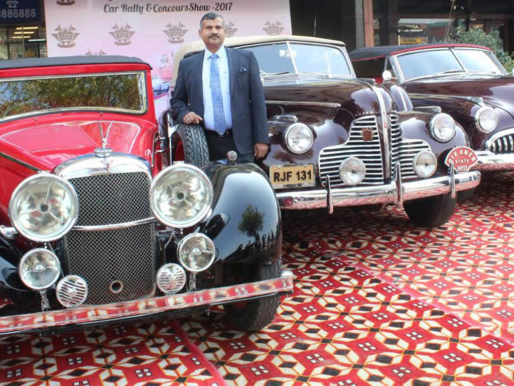 21 Gun Salute Vintage Car Rally 2017: Vintage car rally in Delhi to ...