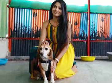Pooja Sawant, on why you must adopt a dog