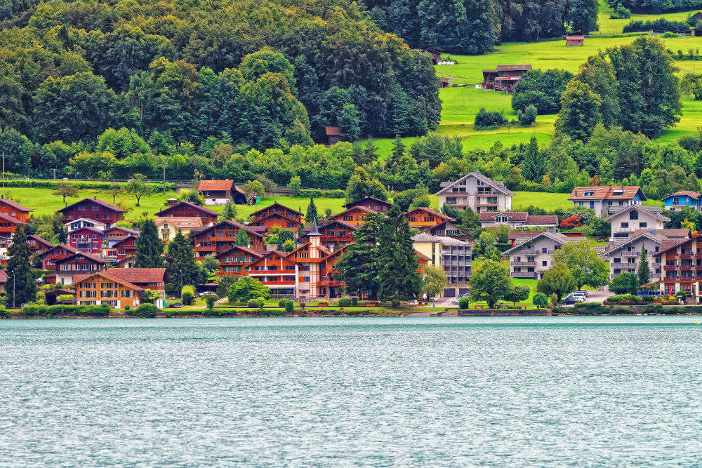 Boat cruise on Thun and Brienz lakes