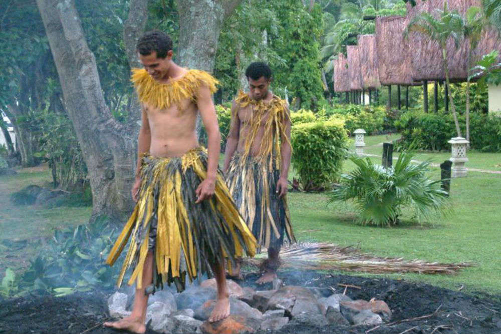 Attend a Firewalking Ceremony