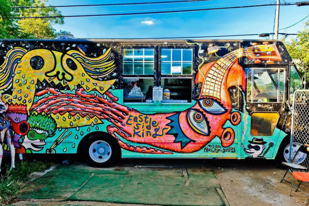 Food-truck fun in Austin, Texas