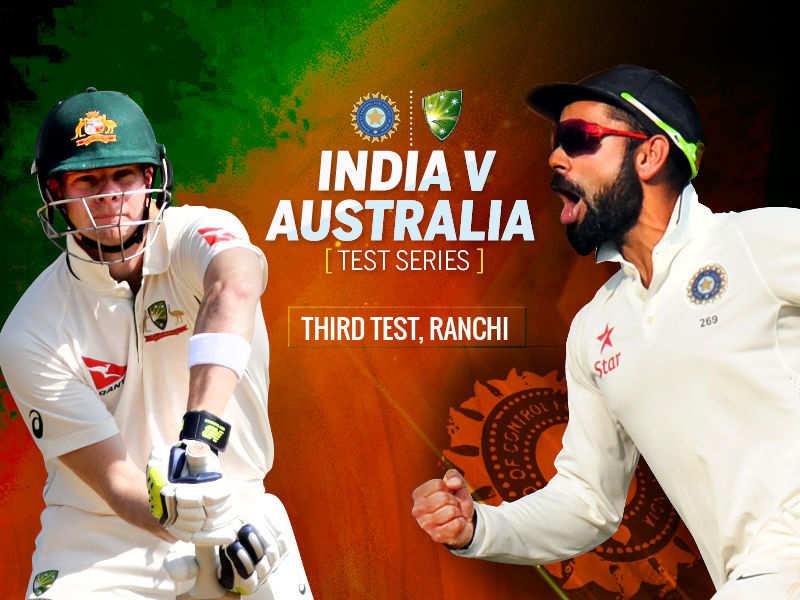 India Vs Australia Live Cricket Score Of India Vs Australia Day 1 Ranchi