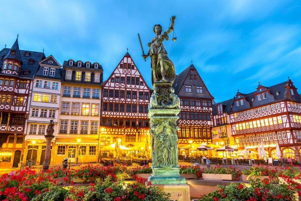 48 hours in Frankfurt