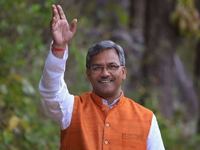 uttarakhand cm: Trivendra Singh Rawat to be Uttarakhand Chief Minister,  swearing-in on Saturday | Uttarakhand Election News - Times of India