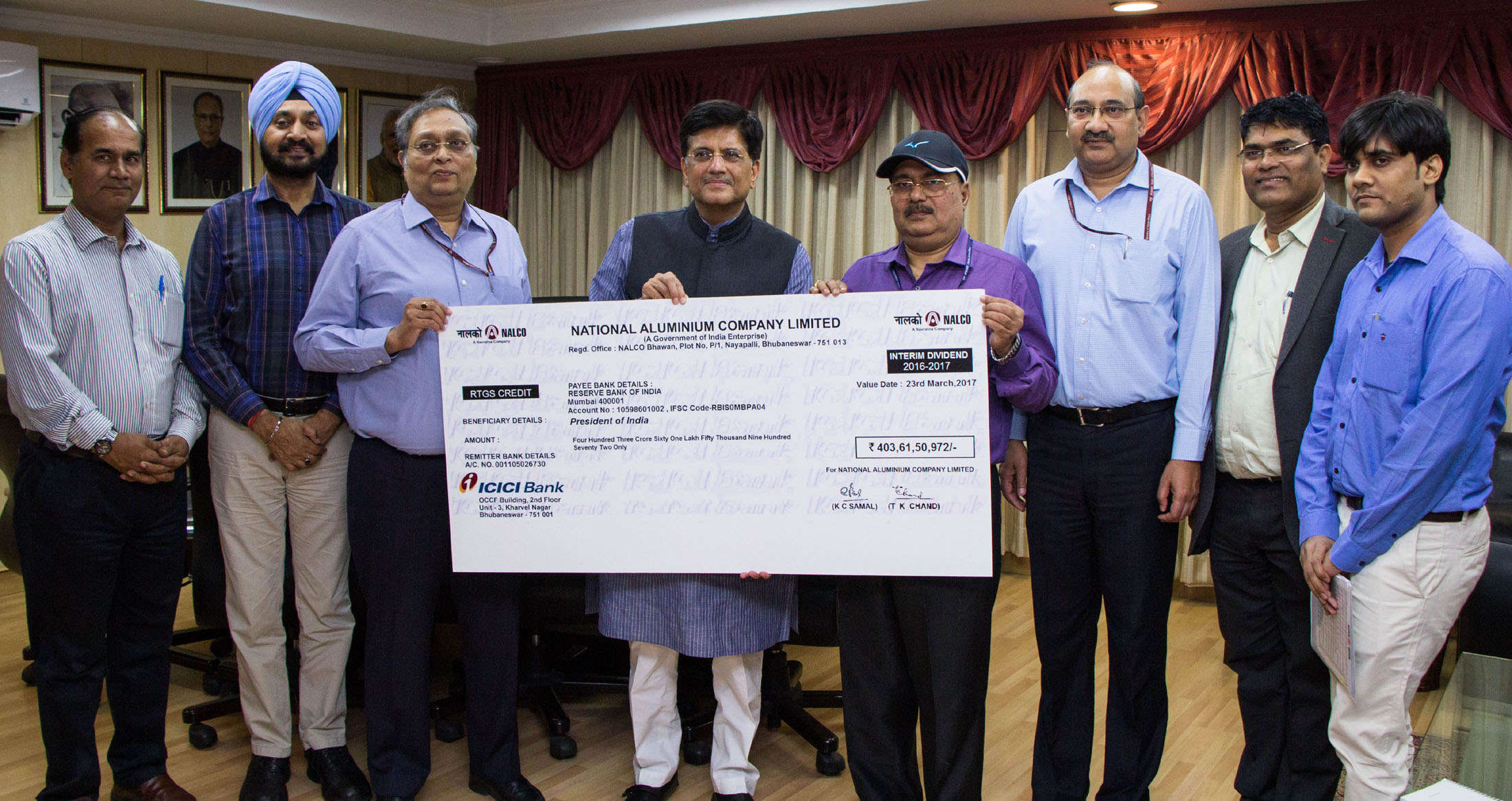 NALCO declares interim dividend of Rs 541 22 crore - Times