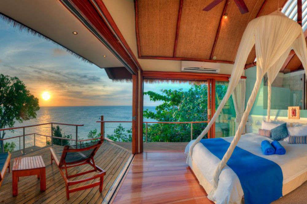 Luxury accommodation in Fiji