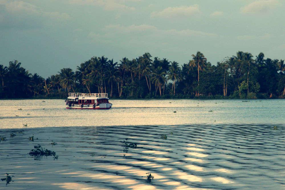 Backwater cruise on Vembanad Lake