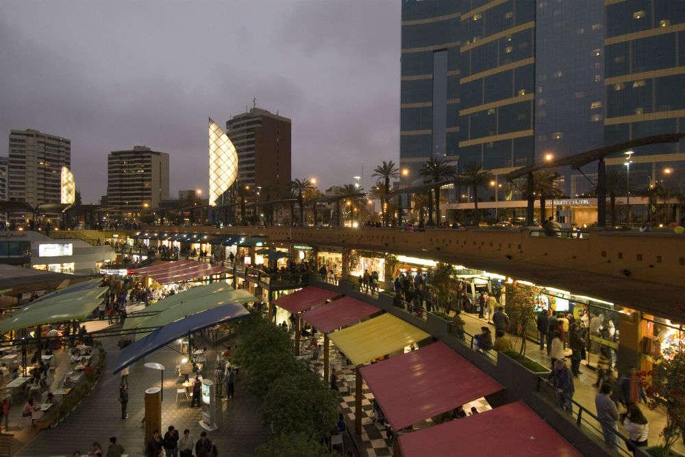 Shopping Centre Larcomar, Lima