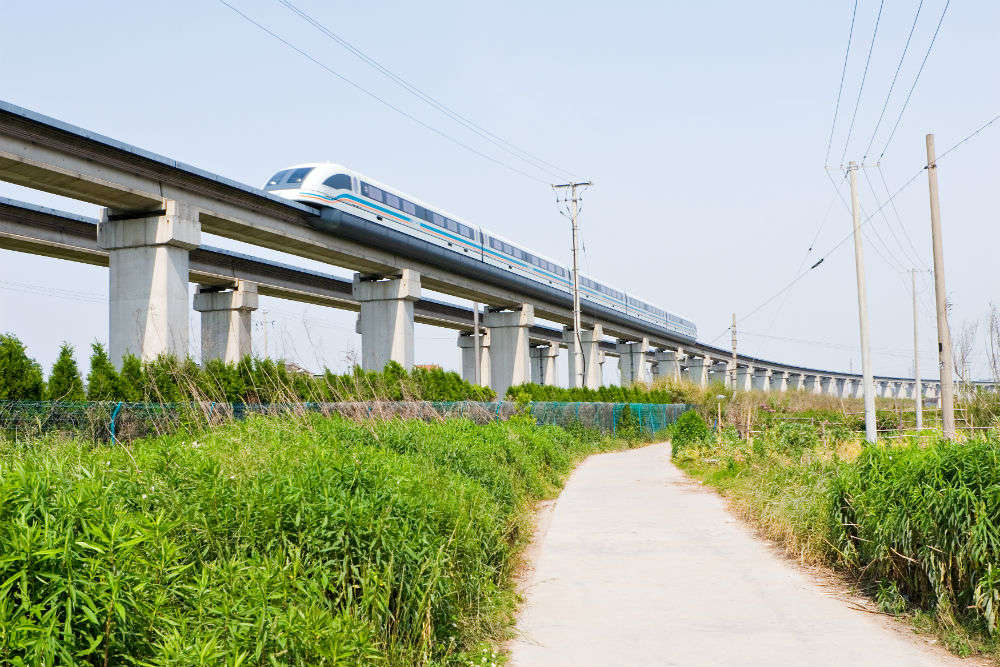 The Shanghai Maglev