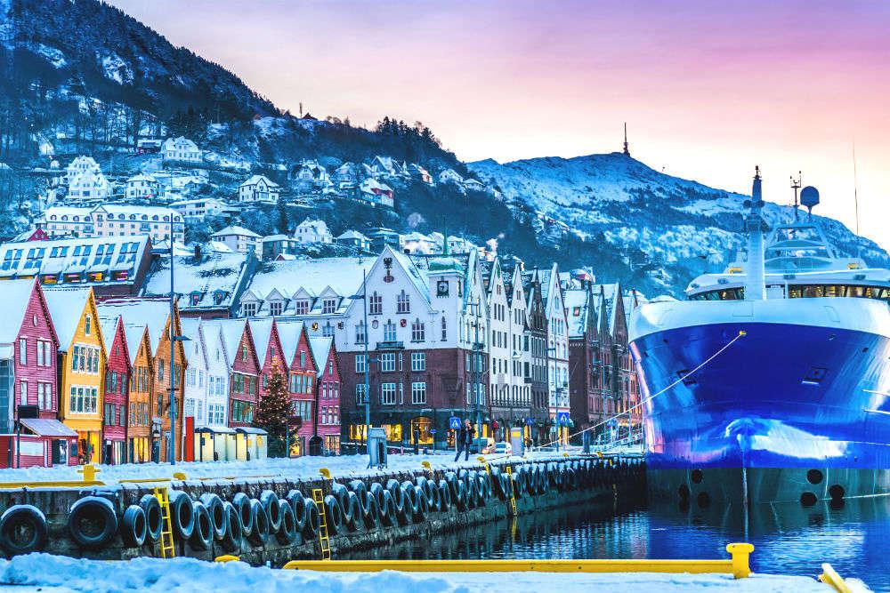Exploring a wharf town: Bergen