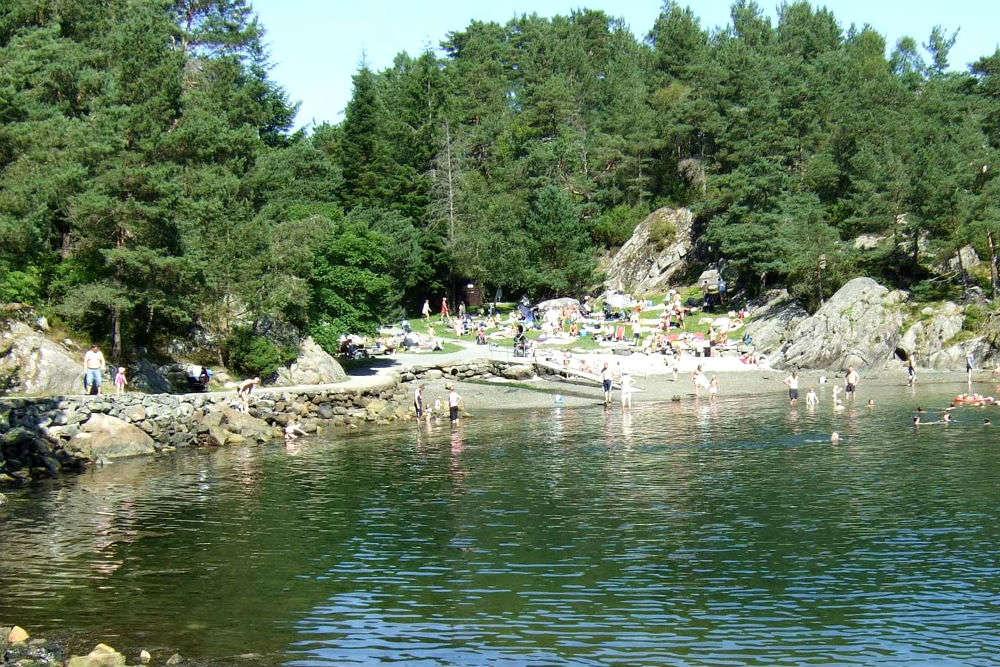 Grønevika beach