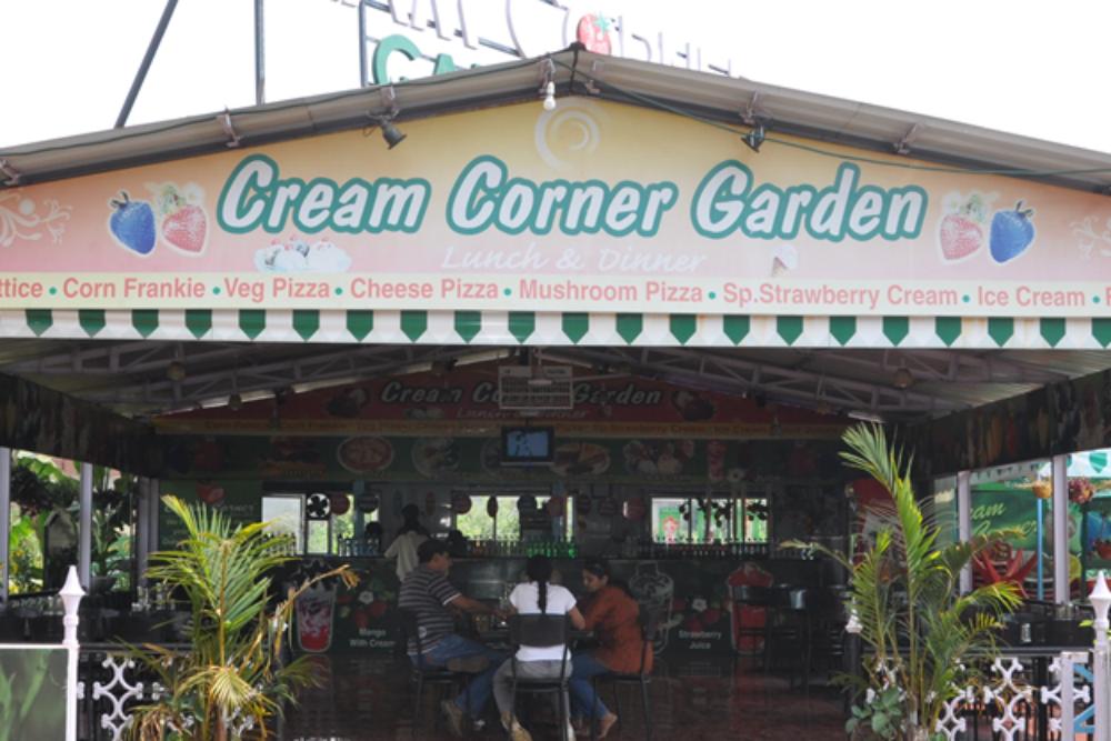 Cream Corner Garden Restaurant