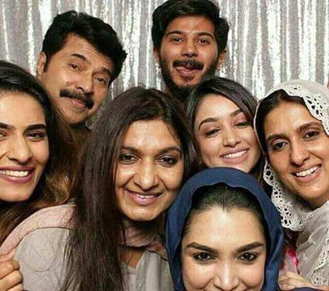 Dulquer Salmaan Amal Sufiya Mammoottys Family Pictures Become Viral