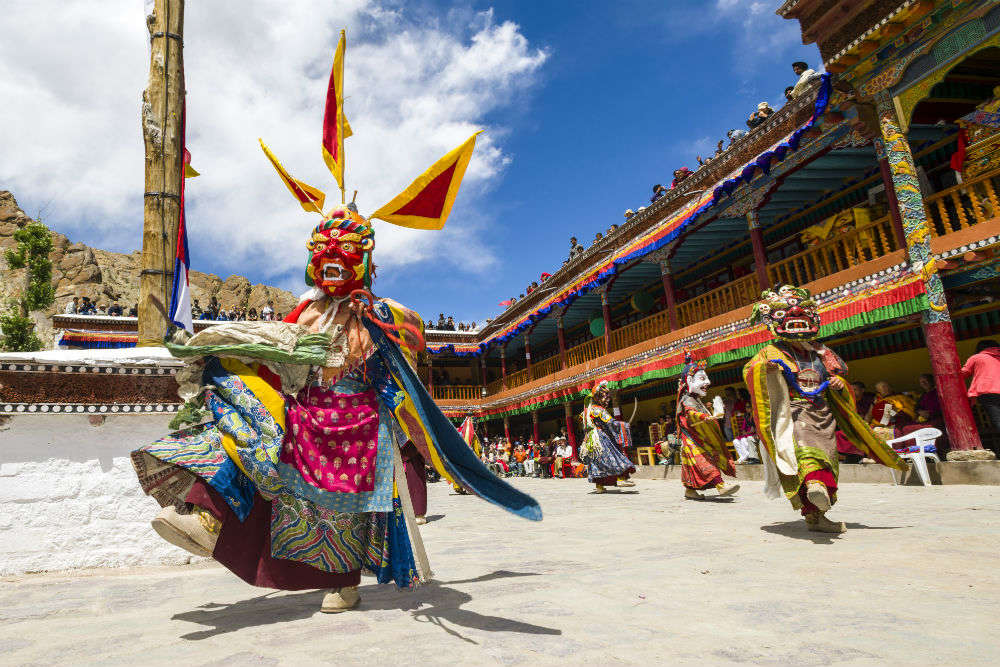 Whispers of the fluttering prayer flags—the incredible Hemis Festival of Ladakh