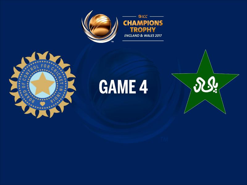 India V Pakistan Live Score Cricket Of Match 4 Birmingham