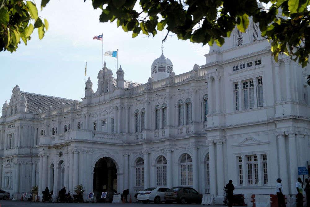Penang Town Hall and Penang City Hall