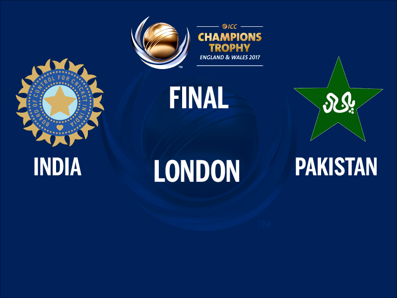 India Vs Pakistan Live Score Cricket Of ICC Champions Trophy 2017 Final London