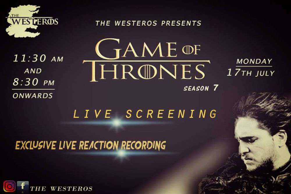 Fan of Game of Thrones? Watch season 7 premier live at this GoT themed café in Delhi