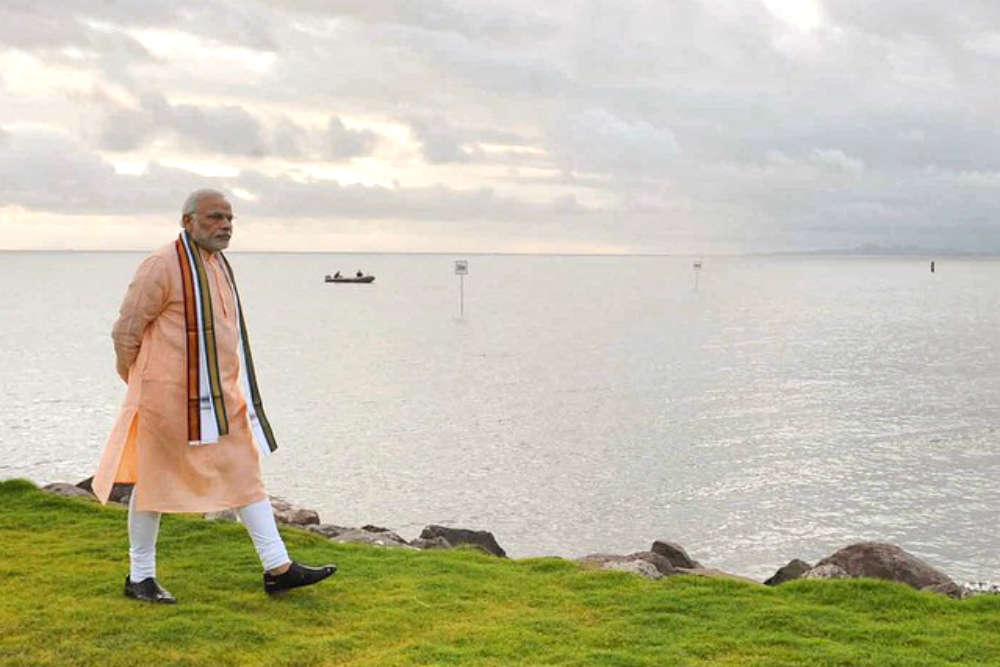Around the world in 3 years with Prime Minister Narendra Modi