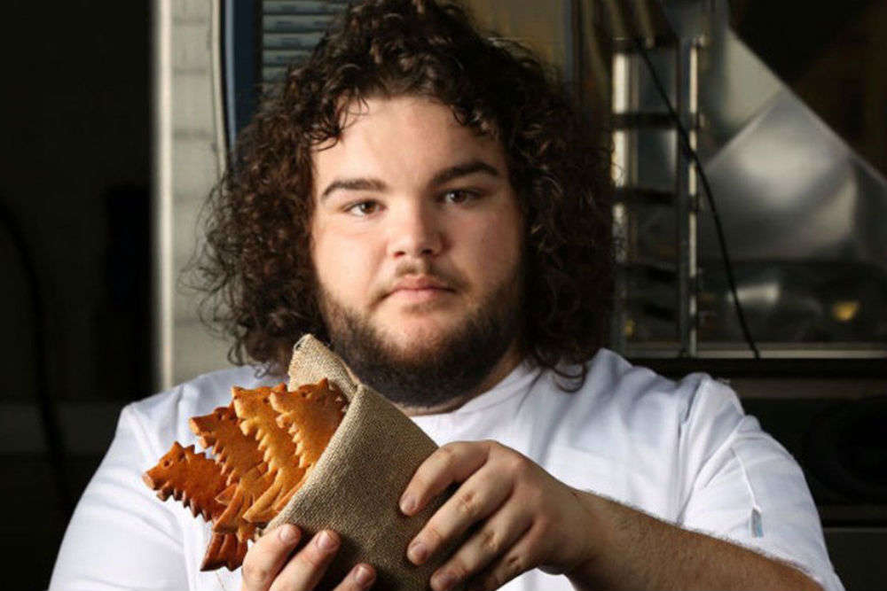 Hot Pie from Game of Thrones opens a bakery and names it You Know Nothing Jon Dough