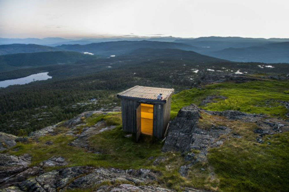 A trip to these toilets if you fancy a stunning view thrown in won't be a bad idea!