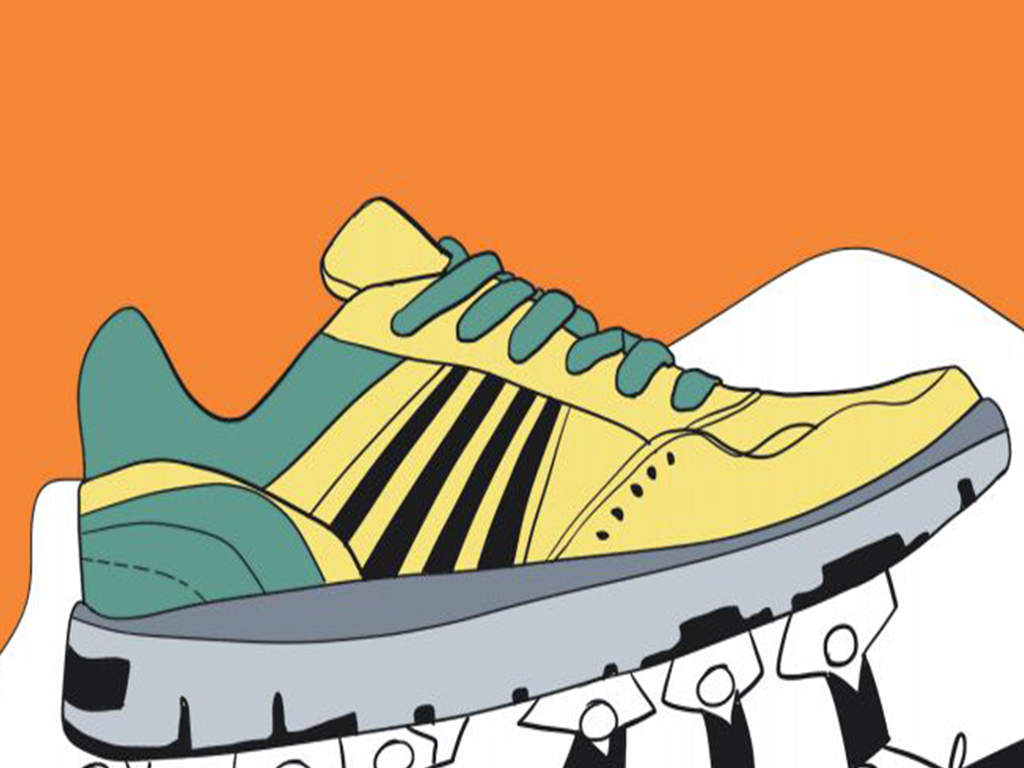 12,000 pairs of fake branded shoes seized | Chennai News - Times of India