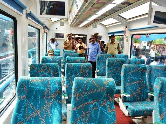 Say hello to Vistadome, India's first glass-roof train running between Mumbai and Goa
